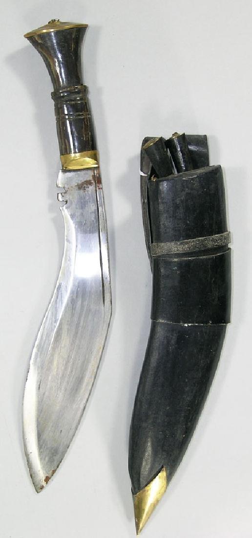 Three Kukri Knives