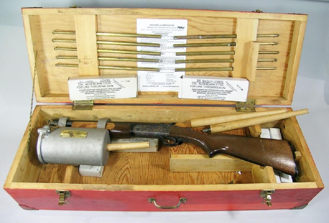 "Naval Co. Inc. ""Bridger"" Model 7094 Line Gun"