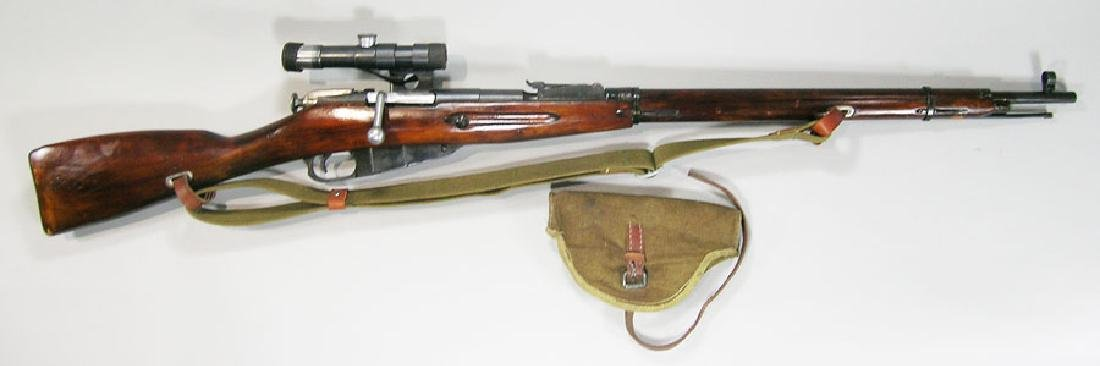 Russian Mosin-Nagant Model 91/30 Sniper Variant Rifle
