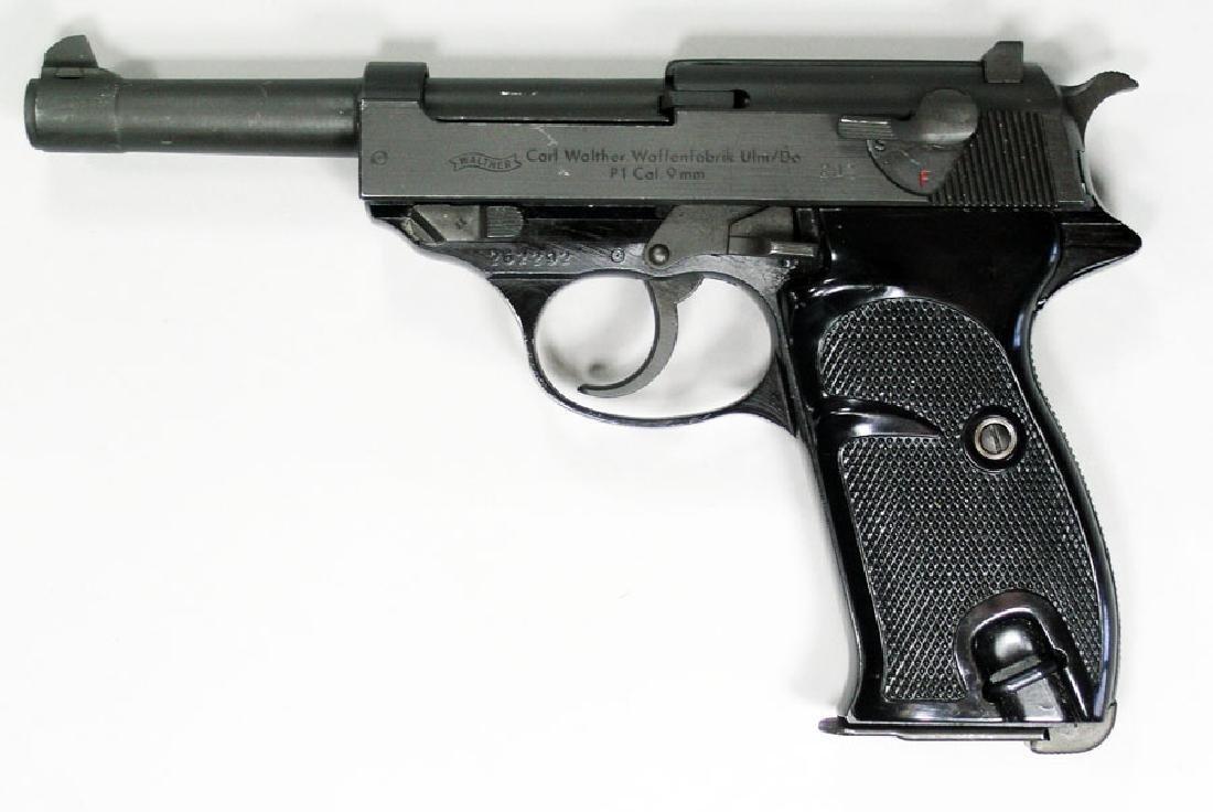 Carl Walther Waffenfabrik Model P1 Semi-Automatic