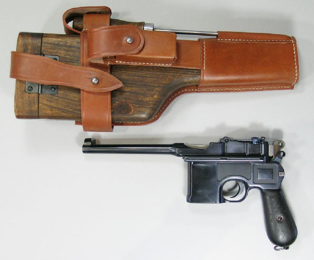 Waffenfabrik Mauser, Model C96, Broomhandle