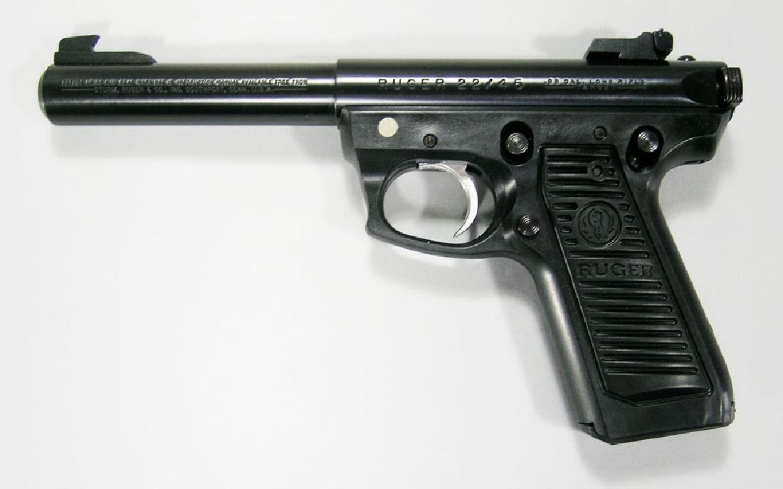 Ruger, Model 22/45, MK II Target Semi-Automatic Pistol