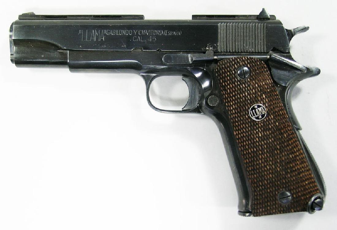 Llama Especial Semi-Automatic Pistol