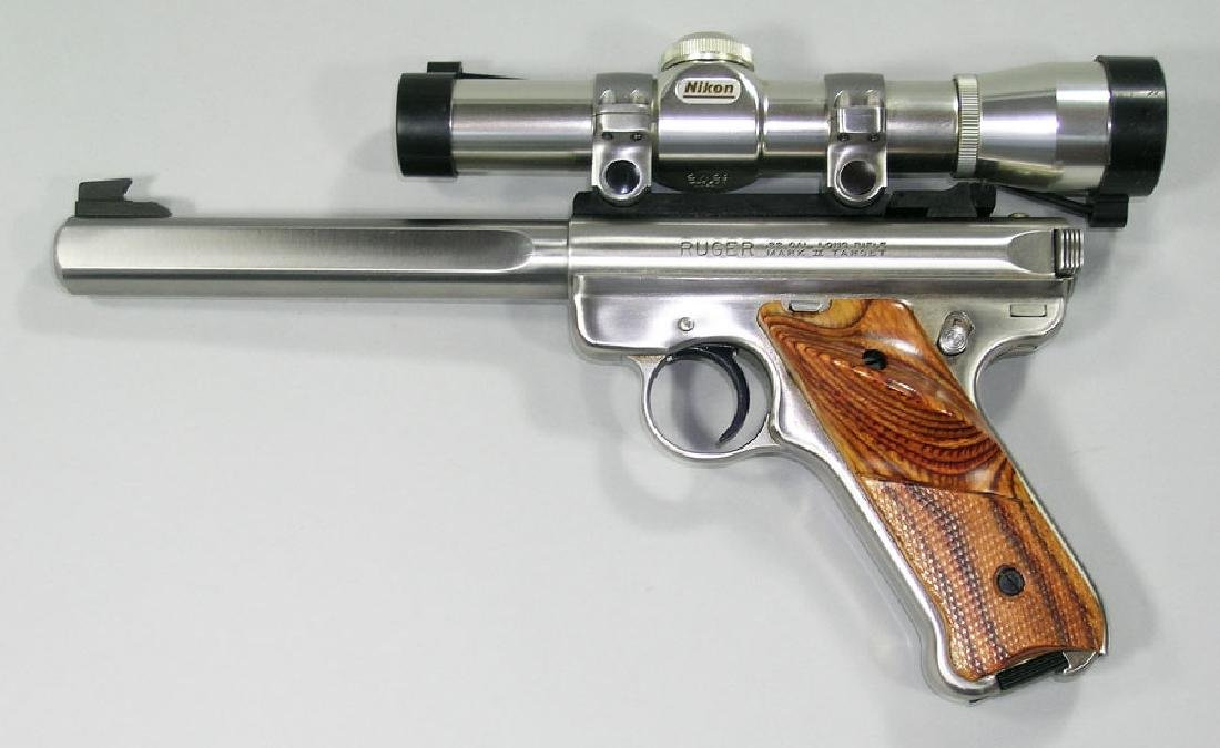 Ruger, Mark II-Target Semi-Automatic Pistol
