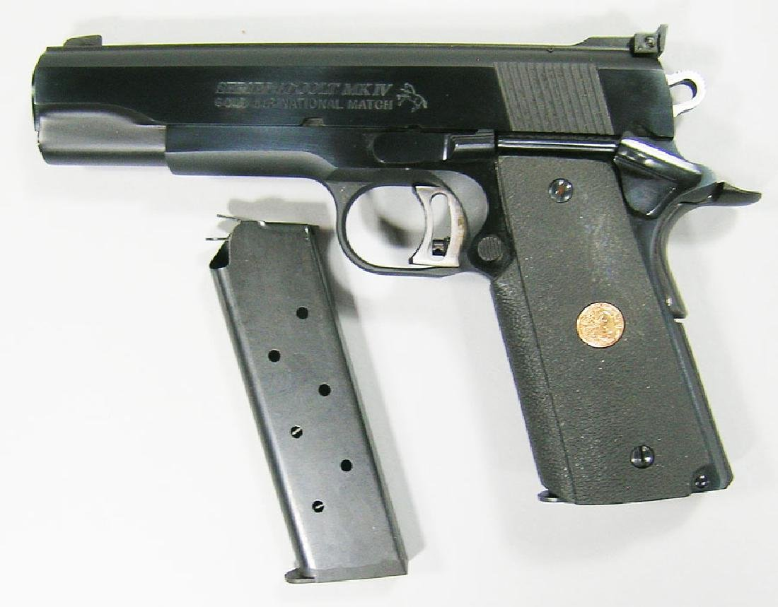 Colt, MK IV-Series 80, Gold Cup-National Match