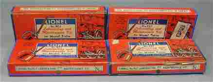 Four Lionel 927 Lubricating and Maintenance Kits