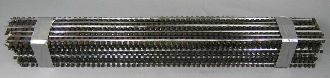 Twenty-Five Sections Gar Graves O-Gauge Flexible Track