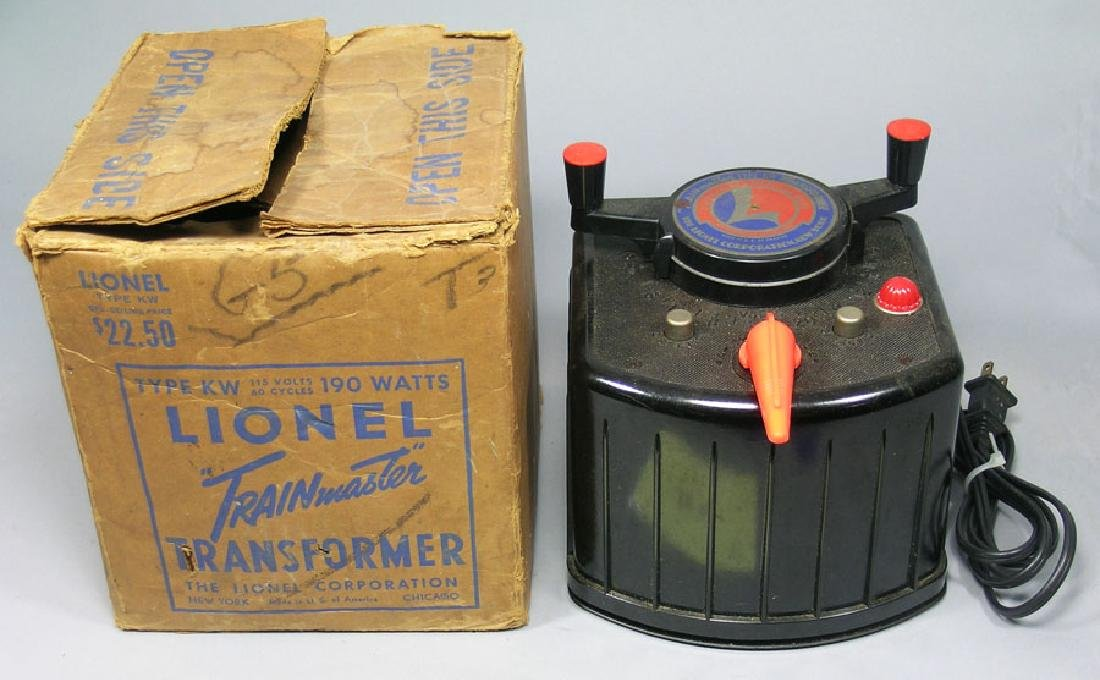 Lionel Type KW Trainmaster Transformer