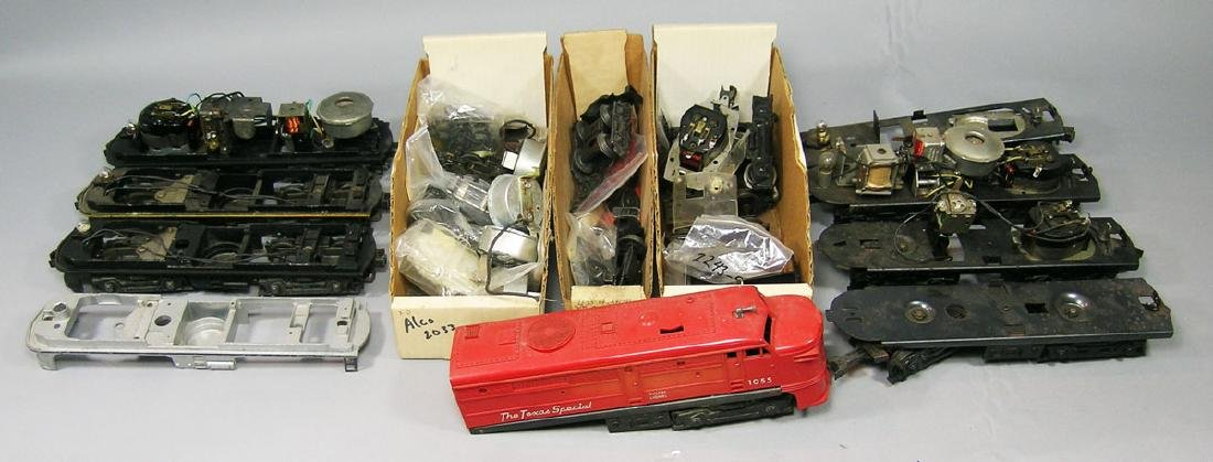 Very Large Assortment of Lionel ALCO Locomotive Parts