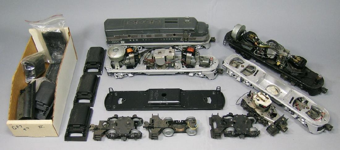 Large Assortment of Lionel F3 Parts
