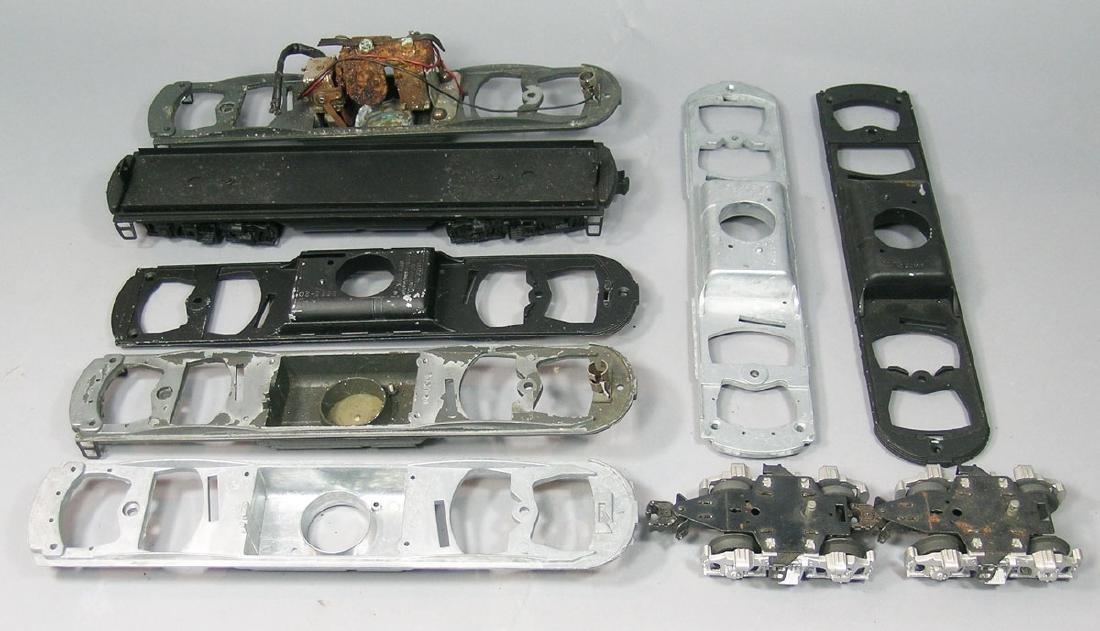 Large Assortment of Lionel F3 Parts - 2