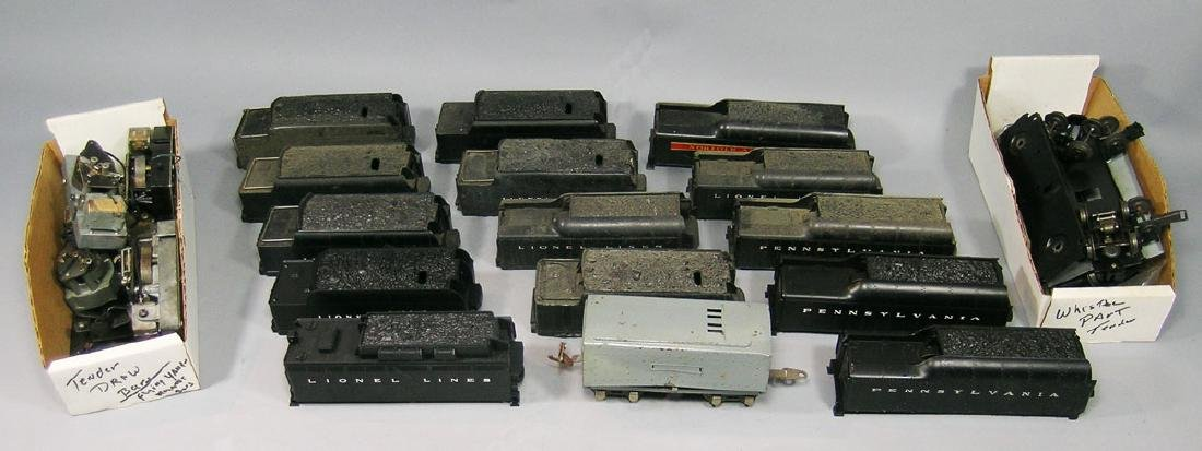 Large Assortment of Lionel Tenders