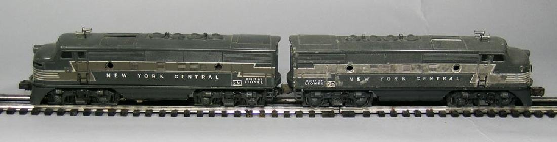 Two Lionel NYC Diesel AA Powered Locomotives