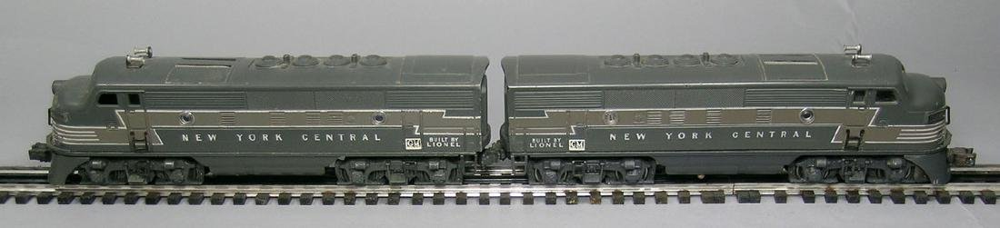 Lionel NYC AA Diesel, one powered, one dummy