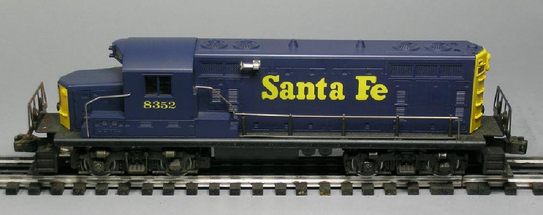 Lionel Santa Fe Diesel 8352, powered