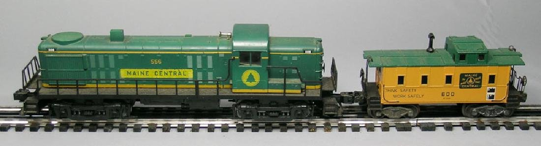 Lionel RS3 Diesel Locomotive, powered, with Matching