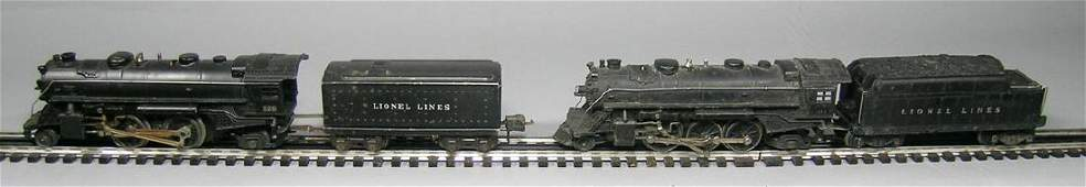 Two Lionel Steam Engines with Tenders