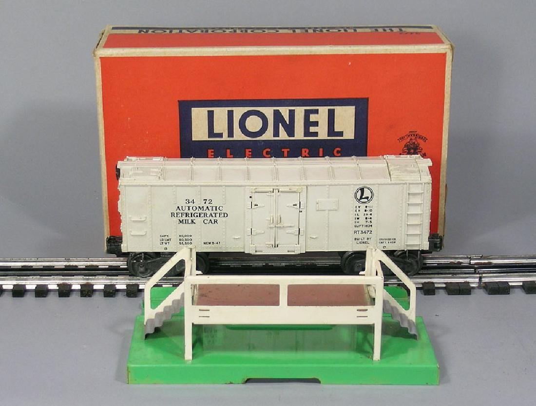 Lionel 3472 Operating Milk Car