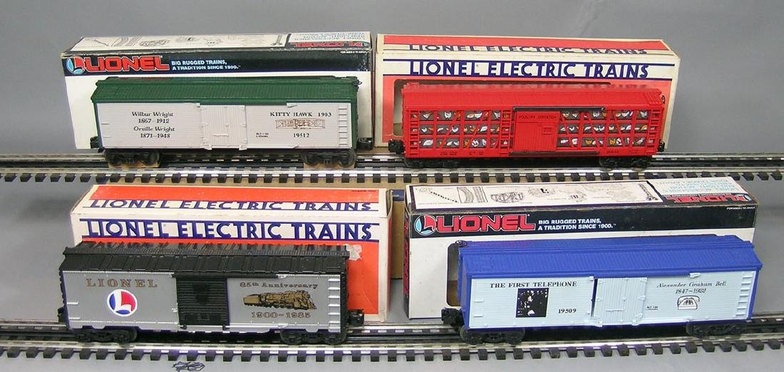 Four Lionel Freight Cars