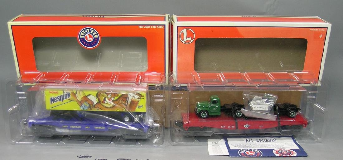 Two Lionel Freight Cars