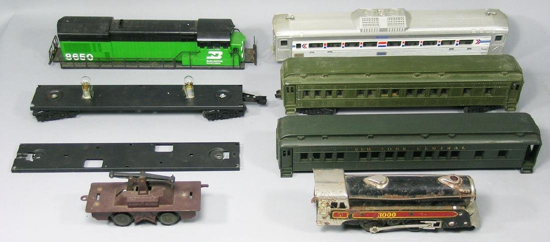 Lionel, Williams and Marx Assorted Items