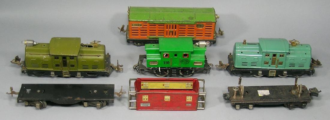 Lionel Pre-War Locomotives and Cars