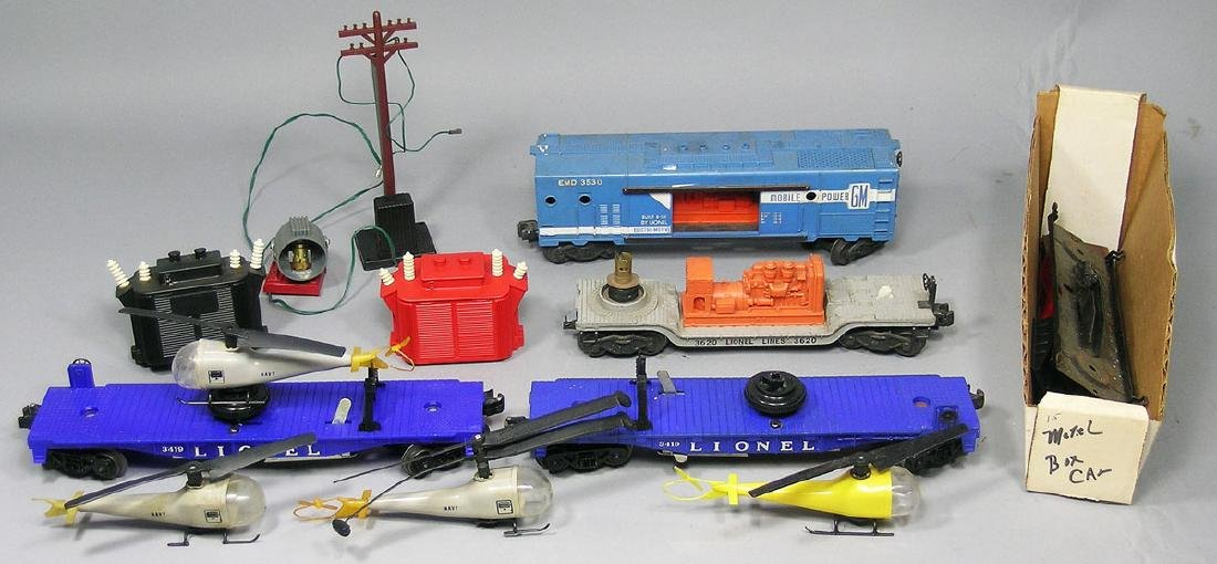 Lionel Assortment of Freight Cars