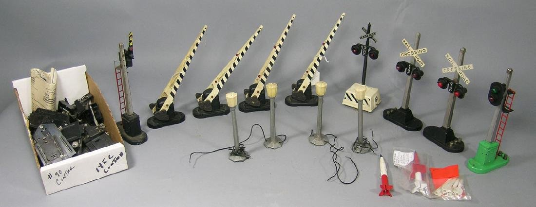 Assortment of Lionel Signals