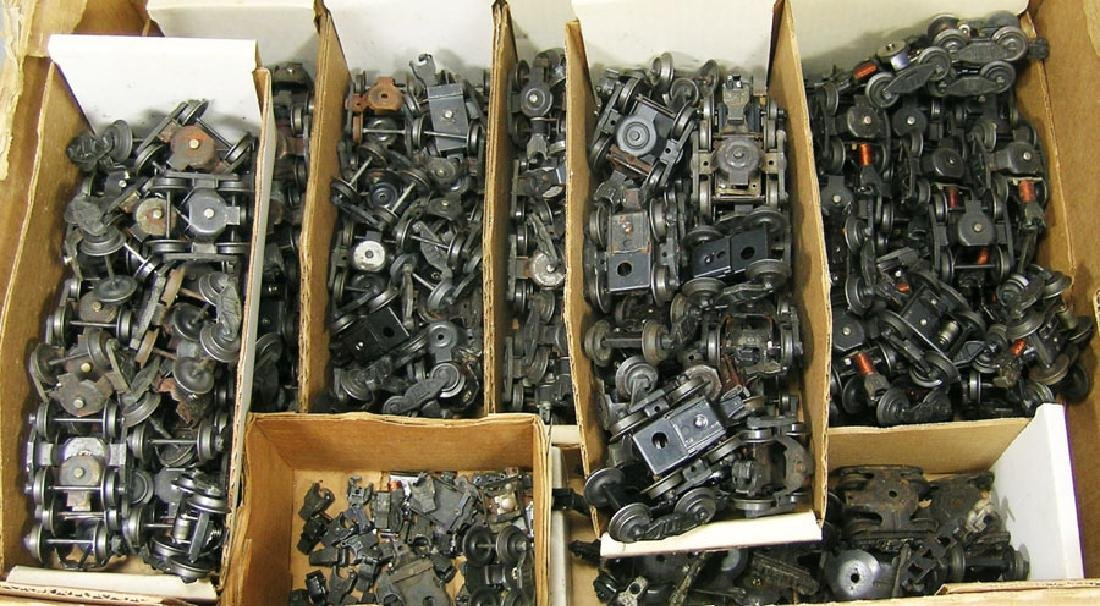 Hundreds of Lionel Post-War Freight Car Trucks