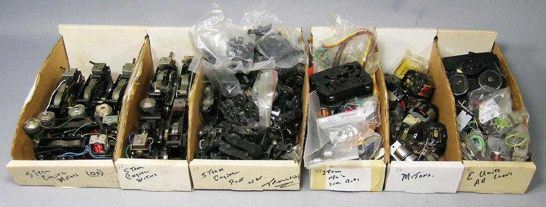 Large Assortment of Lionel Steam Engine Parts