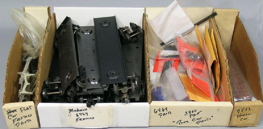 Assortment of Lionel Boxcar Items