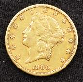 1900-S Liberty Head Double Eagle ($20) Gold Coin