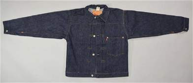 Rare 1940's Levi Strauss & Co. 506 Blue Jean Jacket