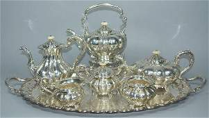 Barker Bros. Sterling Silver Tea and Coffee Service