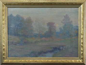 Robert William Vonnoh, (American, 1858-1933)