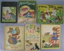 Six Antique and Vintage Children's Books