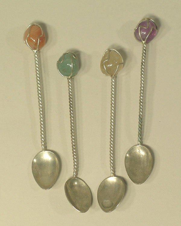 3: Four Demitasse Spoons