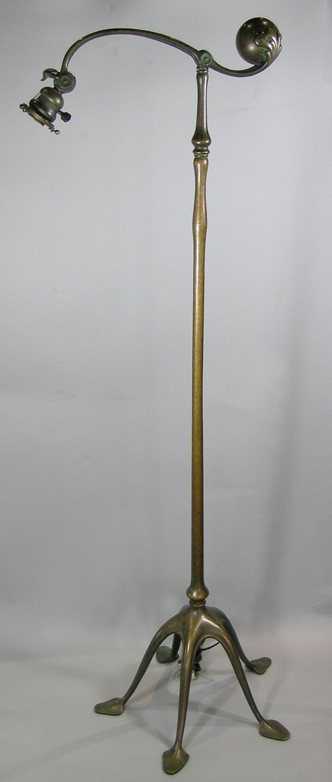 Tiffany Studios Counter Balance Floor Lamp, bronze with