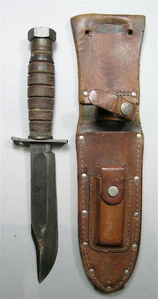 World War II Camillus Military Knife