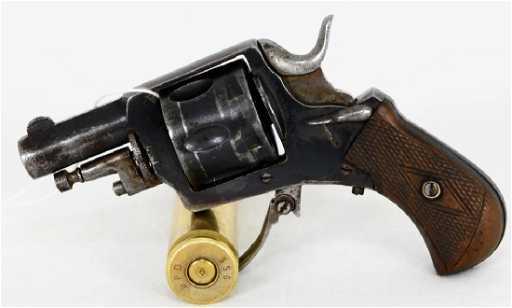 ad92249ac96 Antique Belgian British Bulldog Revolver .320 CF