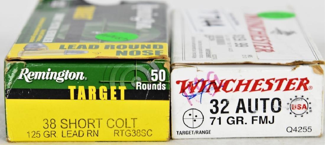 50 rds  32 Auto & 50 rds  38 short colt Ammunition