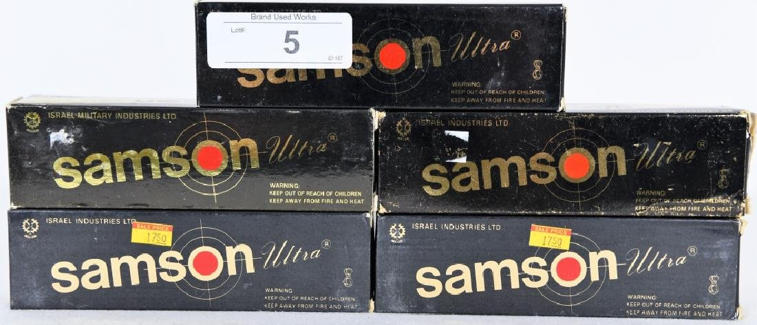 100 Rounds of .50 AE Action Express Samson Ammo