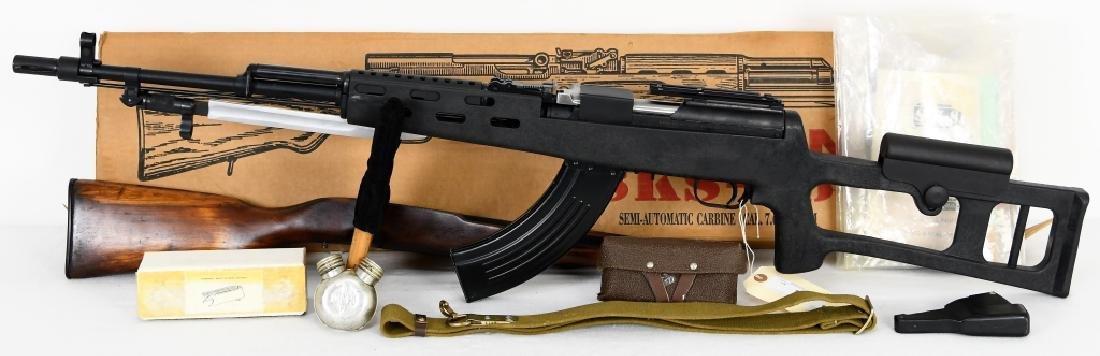Russian SKS-45 Semi Auto Carbine Package