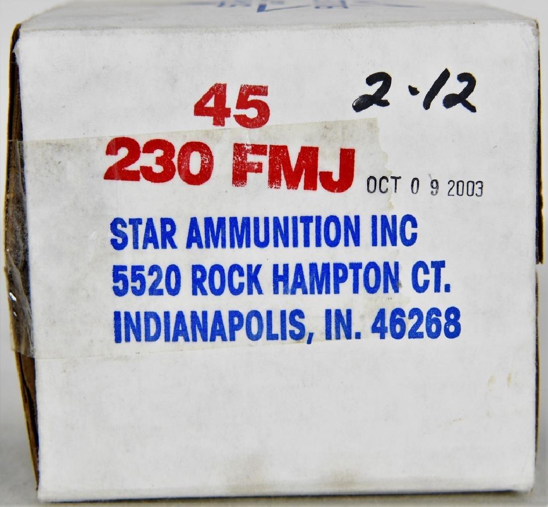 250 Rounds of Gun Pro .45 ACP FMJ Ammunition - 2