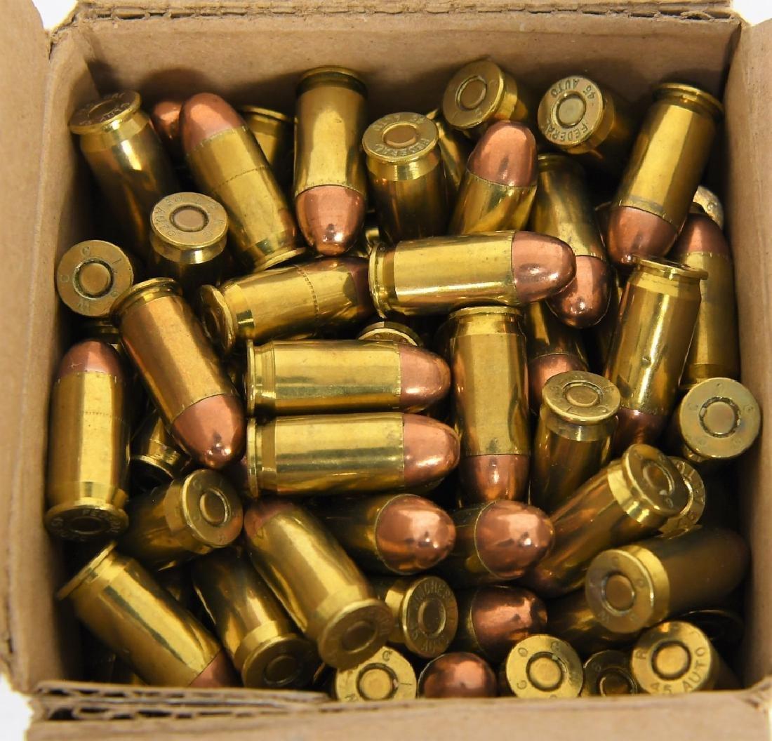 250 Rounds of Gun Pro .45 ACP FMJ Ammunition - 3