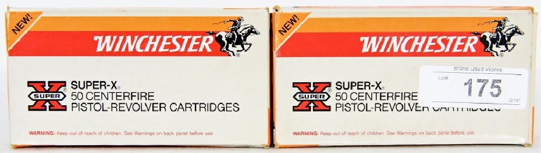 100 Rounds Winchester Super X 44 Rem Mag ammo