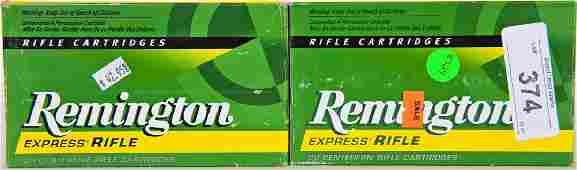 40 rds Remington 375 H&H Mag 270 Gr ammo SP