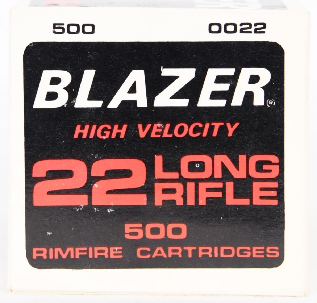 500 rds Blazer High Velocity .22 LR ammo - 2