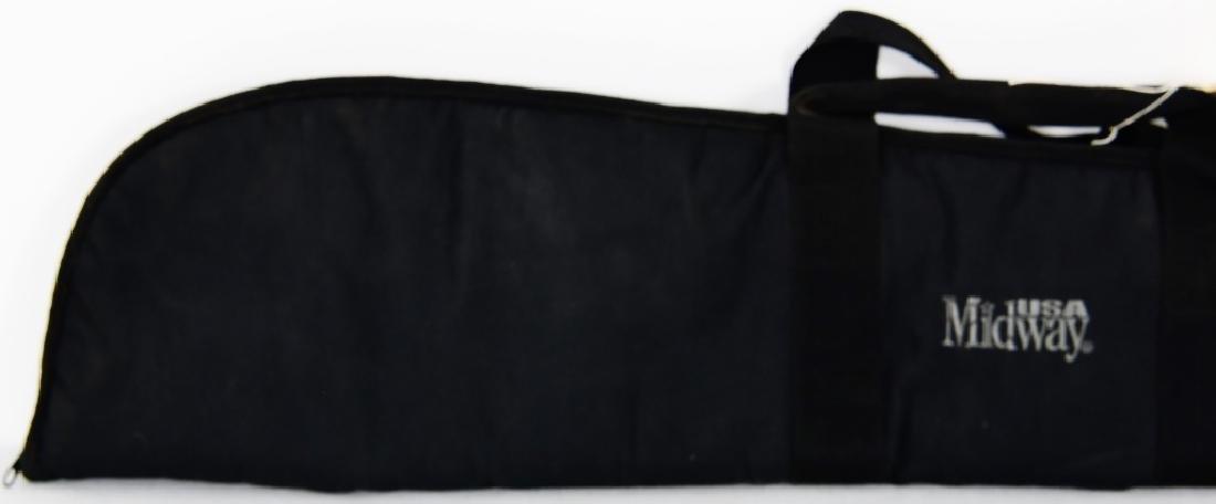 USA MIDWAY Black soft padded Rifle Case - 2