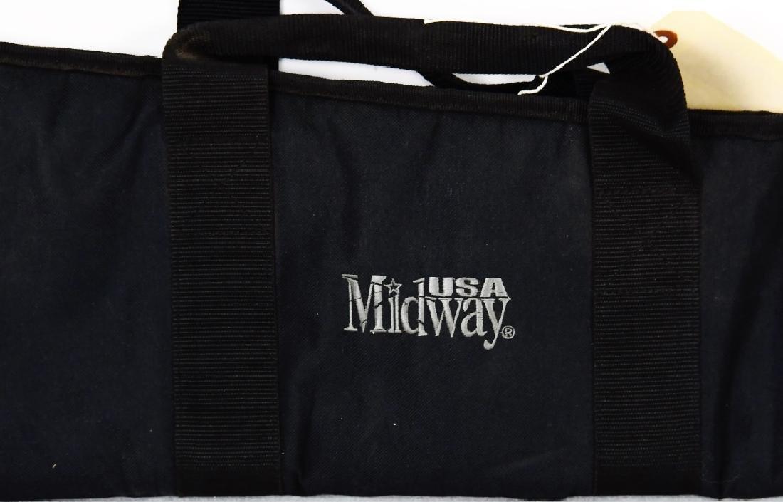 USA MIDWAY Black soft padded Rifle Case - 3